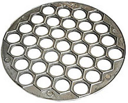 Пельменница алюминиевая на 37 ячеек  25 см