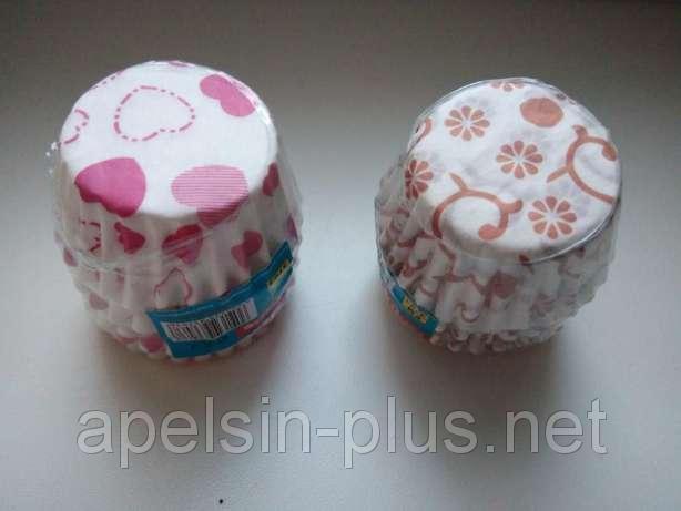 Фото Подложки,коробки,салфетки и бумажные формы для тортов,кексов и пряников Капсулы бумажные для конфет 20 мм 30 мм 100 штук