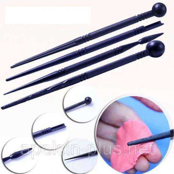 Фото Инструменты для мастики Набор кондитерских инструментов для моделирования из 4штук