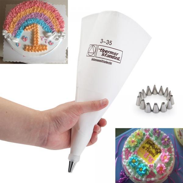 Фото Оптом, Кондитерские мешки Мешок кондитерский тканевый 3 - 35 см