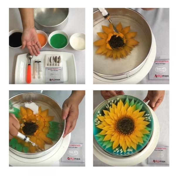 Фото Насадки кондитерские и шприцы Набор насадок для 3D желейных тортов D