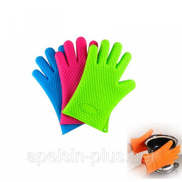 Силиконовая перчатка для горячего (5 пальцев)
