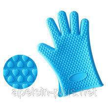 Фото Кондитерские инструменты и аксессуары, Силиконовые инструменты Силиконовая перчатка для горячего (5 пальцев)