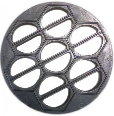 Вареничница алюминиевая на 14 ячеек  25 см