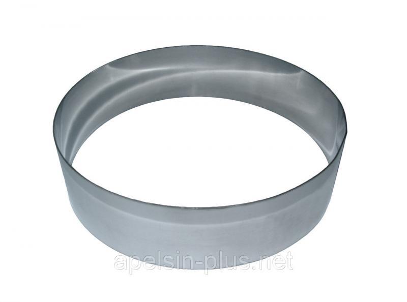 Кондитерское кольцо 40 см высота 10 см нержавеющая сталь