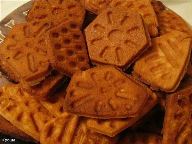 Фото Формы для выпечки орешков и вафель Форма для выпечки печенья