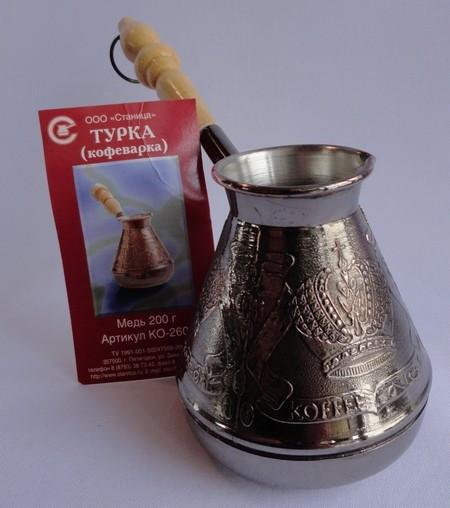Фото Медные турки Медная турка 200 мл