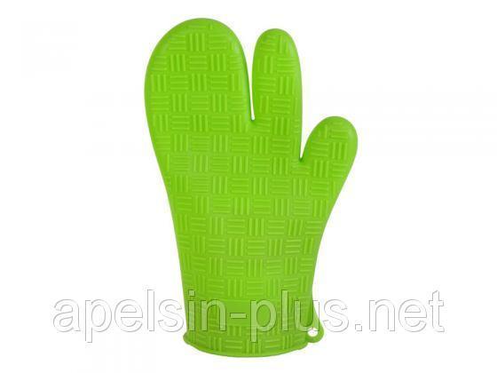 Силиконовая рукавица для горячего (3 пальца)
