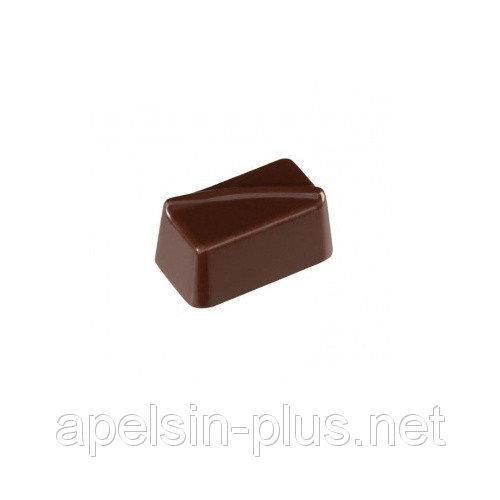 Поликарбонатная форма для шоколада Прямоугольники Bake ware 21 ячейки