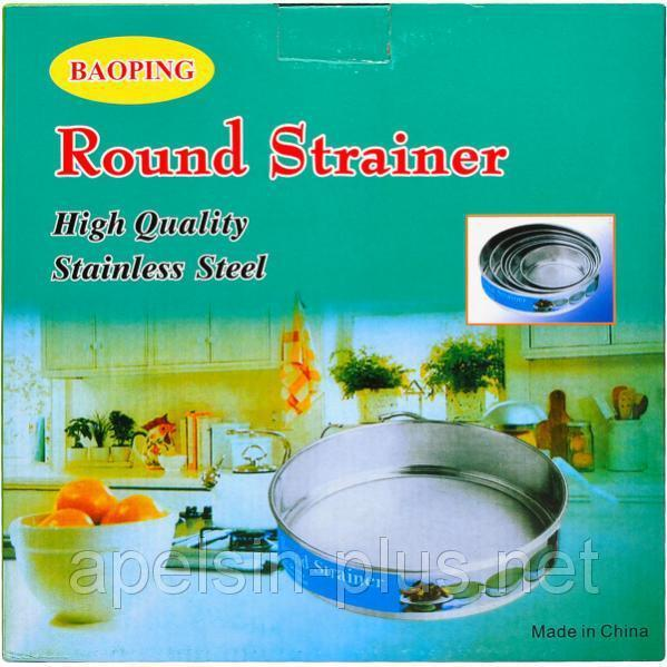 Фото Кухонные принадлежности Сита металлические для муки набор из 6 штук