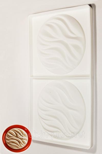 Силиконовая форма для декора муссовых тортов River 110 мл