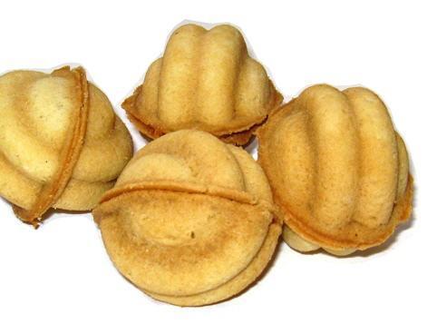 Фото Формы для выпечки орешков и вафель Форма для выпечки печенья Орешки под начинку 16ти