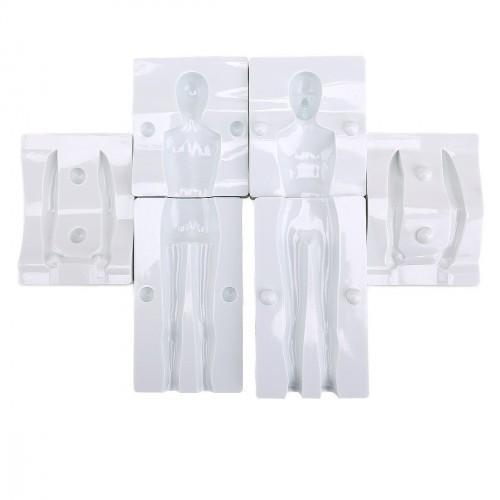 """Молд пластиковый 3D """"Тело мужчины""""  21 см"""