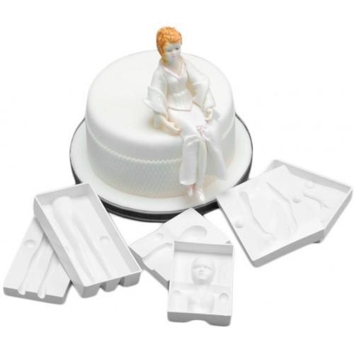 Фото Молды кондитерские пластиковые и силиконовые, Молды людей Молд пластиковый 3D