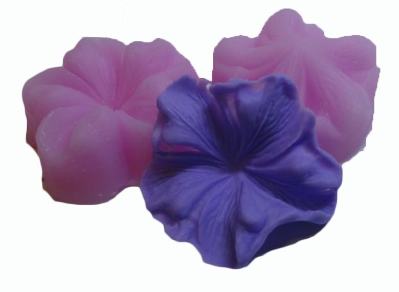 """Вайнер силиконовый """"Цветок пятилистник"""" 3,3 см"""