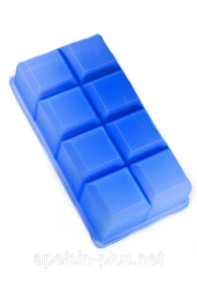 """Силиконовая форма """"Гладкие кубики"""" на 8 штук"""