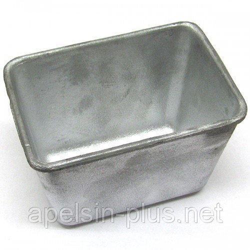 Форма для выпечки хлеба алюминиевая 400 грамм