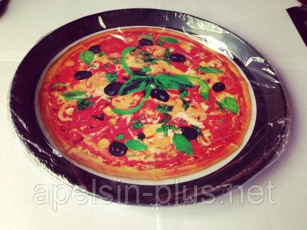 Форма для пиццы вороненая