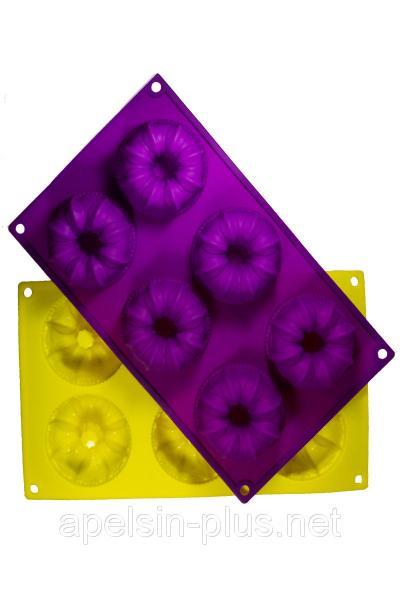 Фото Силиконовые формы для выпечки, Формы на планшете Силиконовая форма для выпечки кексов