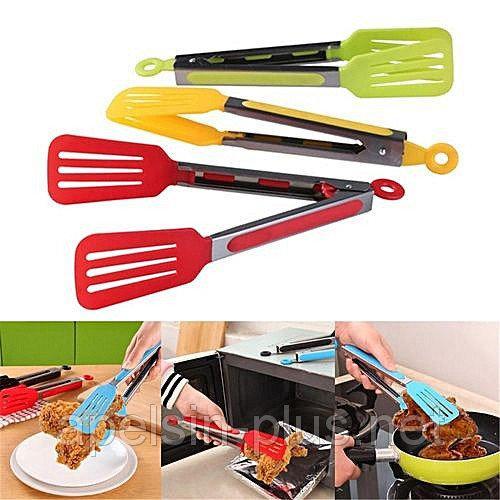 Фото Кондитерские инструменты и аксессуары, Силиконовые инструменты Щипцы кулинарные силиконовые