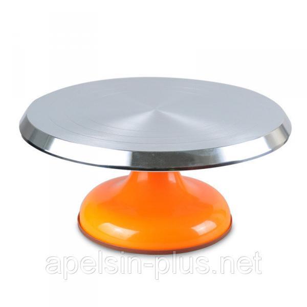 Столик поворотный кондитерский металлический 29 см 14 см