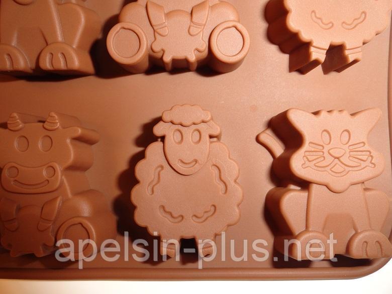 Фото Силиконовые формы для выпечки, Формы для шоколада и льда Силиконовая форма