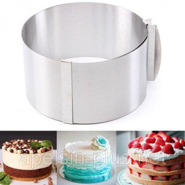 Фото Кондитерские кольца и раздвижные формы для тортов Раздвижная форма