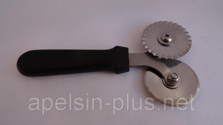 Фото Кондитерские инструменты и аксессуары, Ролики кондитерские Нож роликовый для пиццы и теста