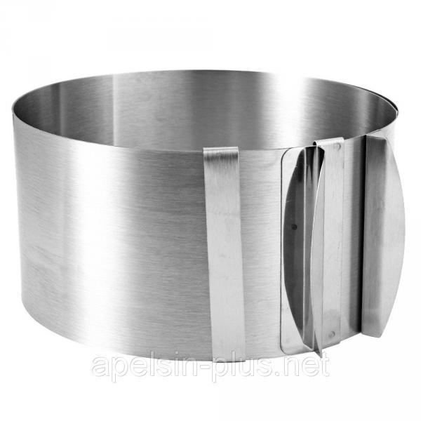 Фото Кондитерские кольца и раздвижные формы для тортов Раздвижная форма для торта высота 15 см