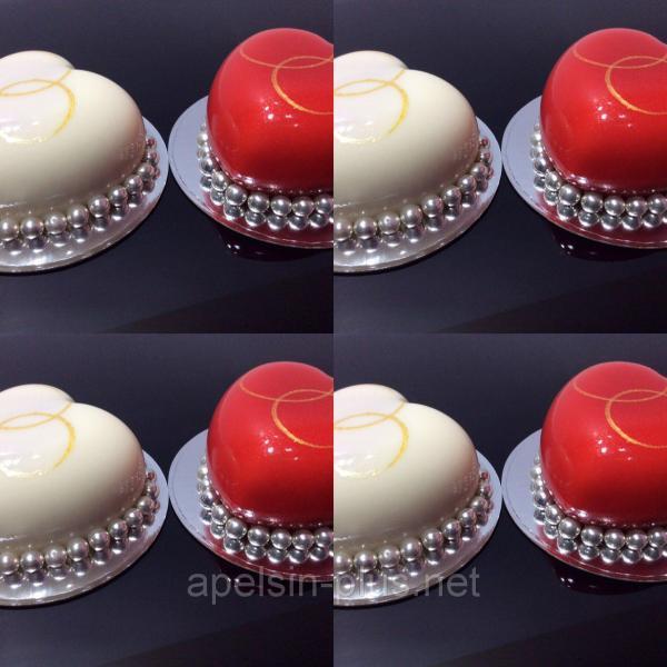 Фото Силиконовые формы для выпечки, Силиконовые формы для евродесертов Силиконовая форма для евродесертов AMORINI (сердчки)