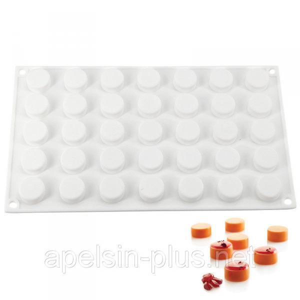 Фото Силиконовые формы для выпечки, Силиконовые формы для евродесертов Силиконовая форма для евродесертов Micro Round