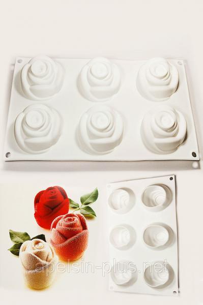 Фото Силиконовые формы для выпечки, Силиконовые формы для евродесертов Силиконовая форма для евродесертов Rosa