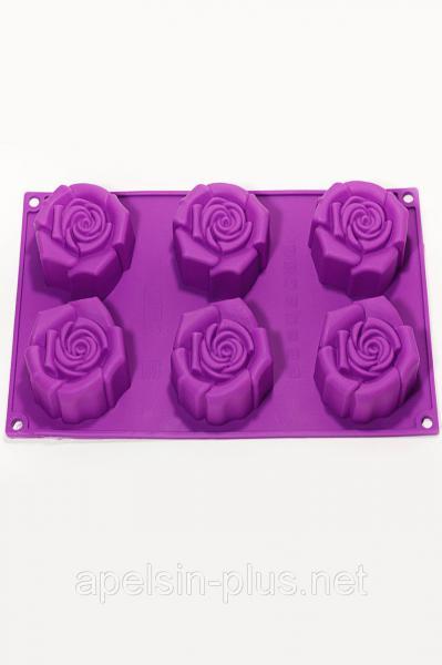 Силиконовая форма для евродесертов Rosa (Чайная Роза)