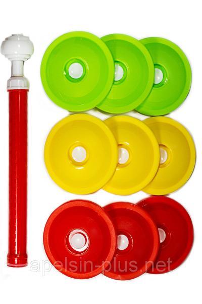 Набор вакуумный для консервации и хранения продуктов Крышки и насос