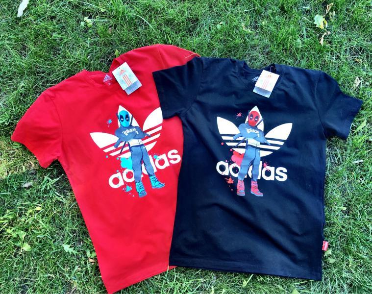 Мужская футболка Adidas Dead Pool