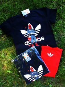 Фото  Мужская футболка Adidas Dead Pool