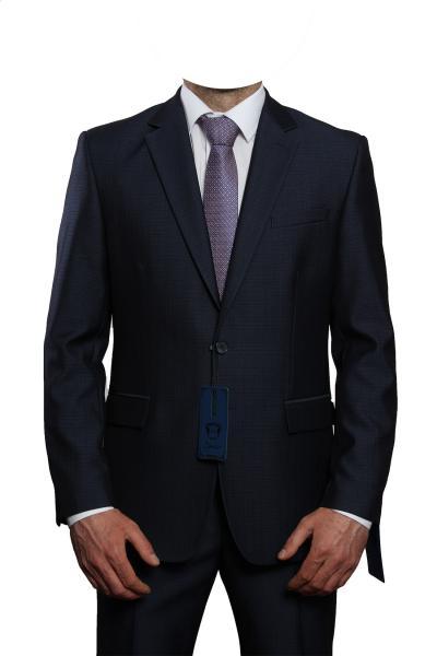 Классический костюм Оникс синий