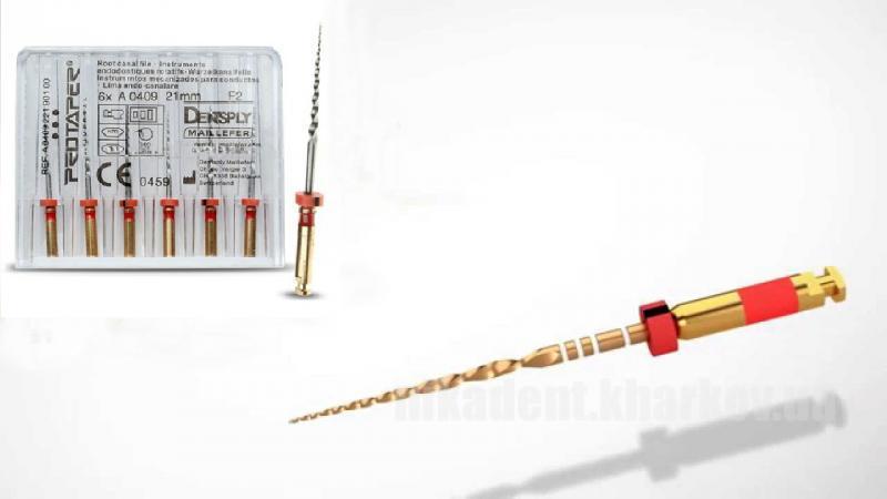 Фото Для стоматологических клиник, Эндоинструменты Dentsply Maillefer Protaper машинный (1шт)