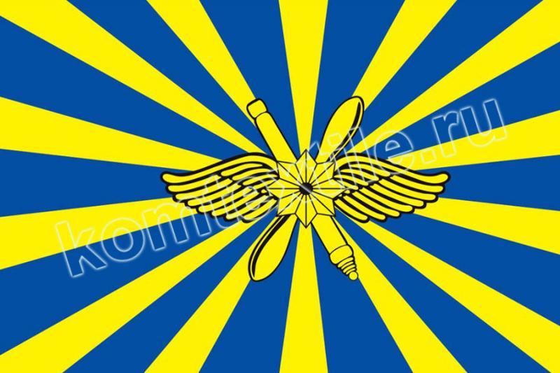 """Знамя """"ВКС - Воздушно-космические силы"""", двухстороннее"""