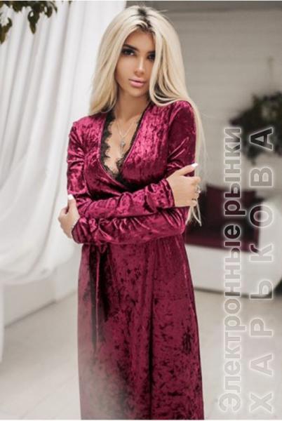 8d7fe0c03933e7e Бархатное вечернее платье Грация марсала - Вечерние платья на рынке  Барабашова