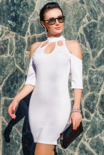 """Белое нарядное платье """"Infiniti"""""""