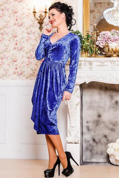 """Вечернее платье """"Дороти"""", электрик"""