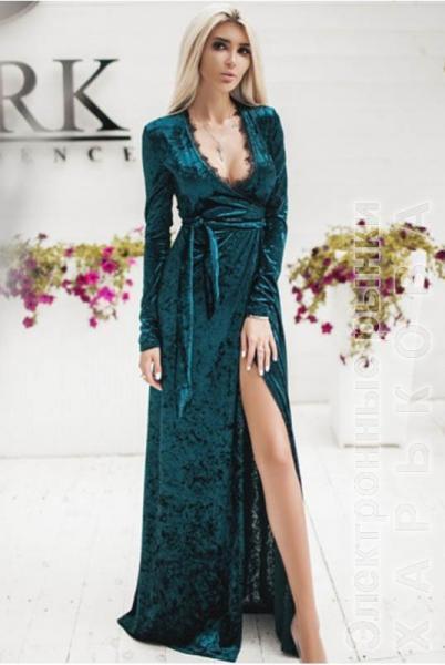 e308d009493 Вечернее платье Грация изумрудного - Платья больших размеров на рынке  Барабашова