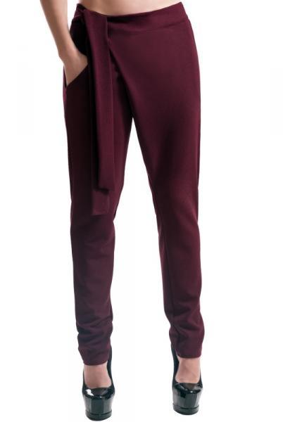 """Женские стильные брюки """"Вашингтон"""", бордовый"""