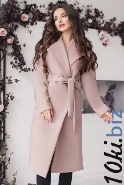Женское пальто Даниель бежевого цвета - Пальто женское в магазине Одессы