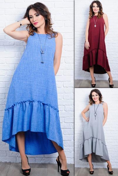 Женское платье - сарафан Гортензия