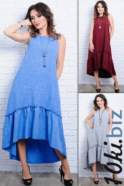Женское платье - сарафан Гортензия - Платья в пол, макси платья в магазине Одессы