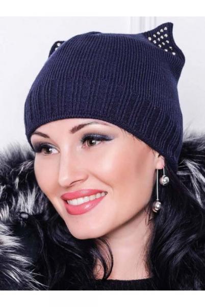 "Зимняя шапка  ""Katty"" синий"