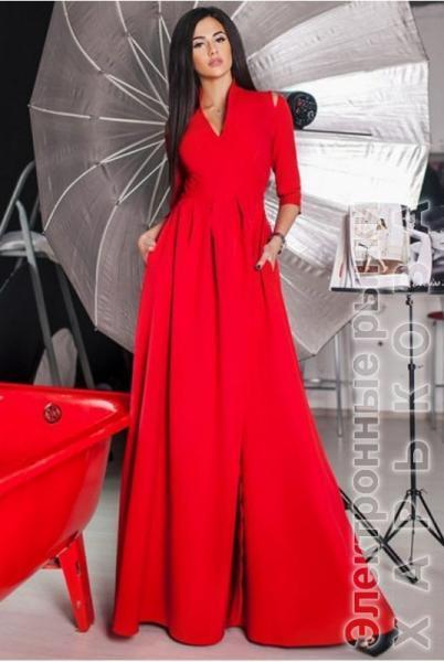 ec4b6185ded Красное вечернее платье Гарсия макси - Вечерние платья на рынке Барабашова