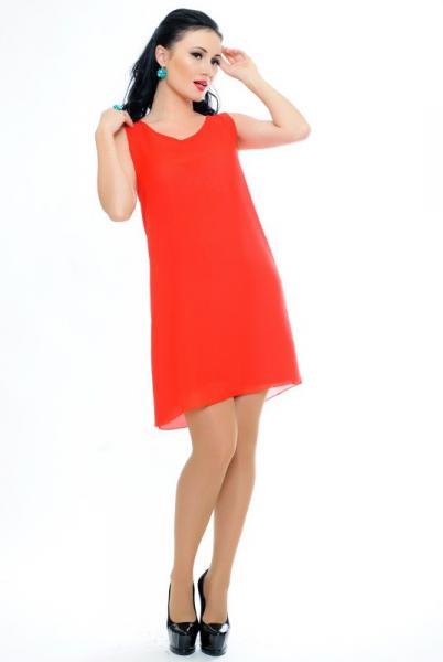"""Красное женское платье """"Malibu"""""""